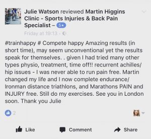 Triathlete Testimonial