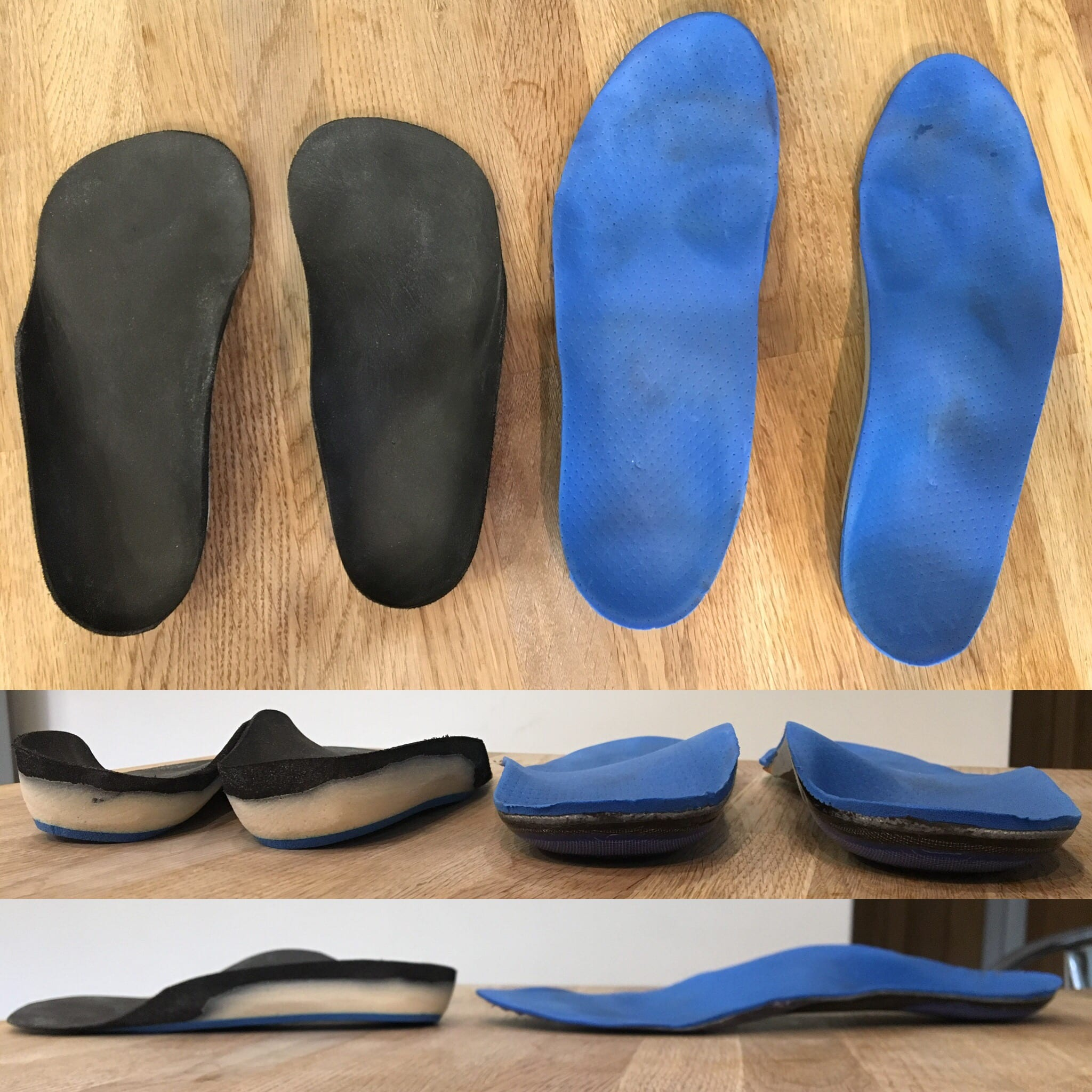 compare orthotic